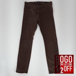 UO BDG   Chocolate Corduroy Mid Rise Jeans (Sz 4)